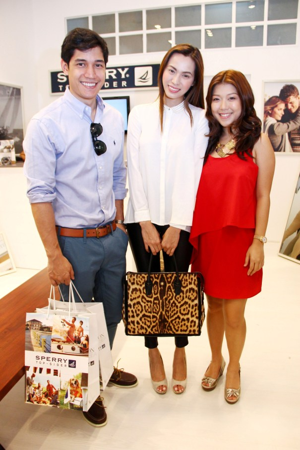 Karen Ong with Victor Basa and Divine Lee